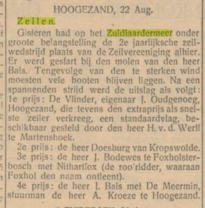 1927 zeilen zuidlaren 2