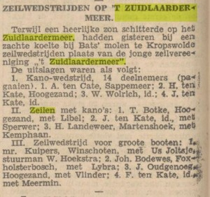 1928 zz zeilen