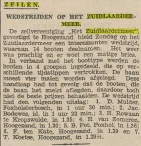 1930 zz zeilen